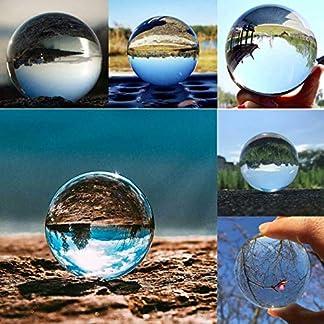 MKISHINE-K9-Kristallkugel-Glaskugel-Fotografie-Kugel-fr-Meditation-und-Heilung-Glaskugel-fr-Dekoration-Fotokugel-aus-Glas-Lensball-Kristall-Kugel-fr-Fotografie-Dekoration-80mm-315-inch
