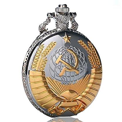 Taschenuhr-Retro-die-Double-Krankenschwester-Freimaurerei-Taschenuhr-Geburtstag-Geschenk-fr-Herren-Quarz-Fob-Uhr-Anhnger-Taschenuhr