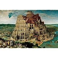 Ravensburger-17423-Brueghei-Turmbau-zu-Babel-5000-Teile-Puzzle