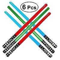 Toyvian-Aufblasbares-Schwert-100CM-Leuchten-Sbel-Spielzeug-Party-Favor-Spiel-Schwert-Set-6Pcs