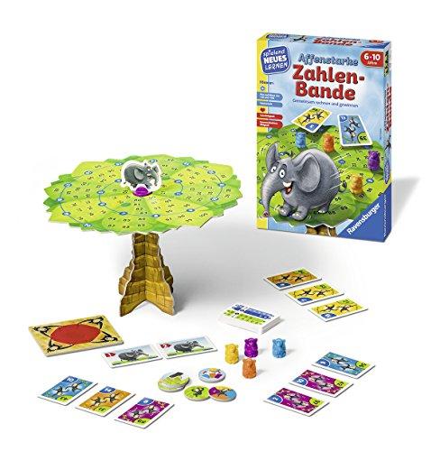 Ravensburger-Kinderspiele-24973-Affenstarke-Zahlen-Bande-Lernspiel-Bunt