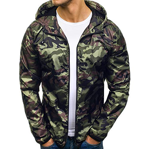 Herren-Regenjacke-FORH-Windbreaker-Casual-Camouflage-Outdoor-Jacke-Kapuze-Top-Wasserdicht-Atmungsaktiv-Winddicht-Laufjacke-Mnner-Outdoorjacke-Slim-Mantel-mit-Tasche