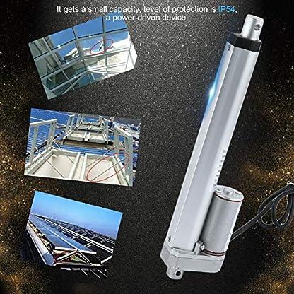 Ironheel-Anschlag-Elektrische-Stostange-200MM-DC-Stostangen-Motor-mit-Hochleistungslinearantriebs-Klammer-fr-industrielles-landwirtschaftliche-Maschinerie-Bau