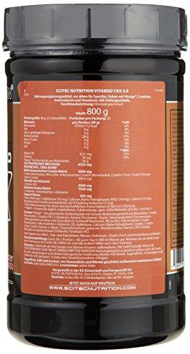 Scitec Nutrition Vitargo CRX 2.0 Himbeere, 1er Pack (1 x 800 g)