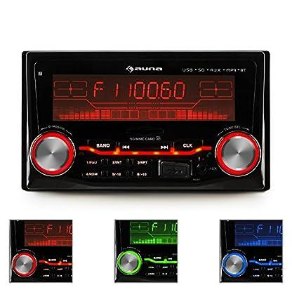 auna-MD-200-Autoradio-USB-SD-MP3-Radio-Aufnahme-3-Farben-Bluetooth