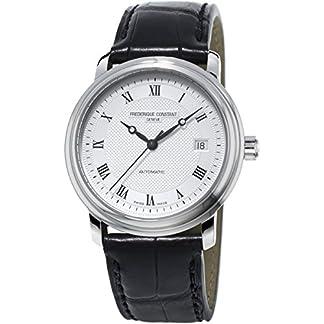 Frederique-Constant-Herren-Armbanduhr-XL-Analog-Automatik-Leder-FC-303MC4P6