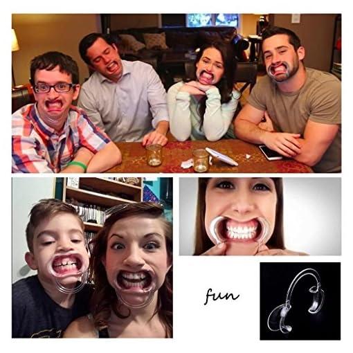 10-Stck-Mundstcke-Ersatz-C-Form-Wangenknochen-Retractors-fr-Mundschutz-Challenge-Spiel-oder-Zahnheilkunde-transparent-Dental-Mund-ffner