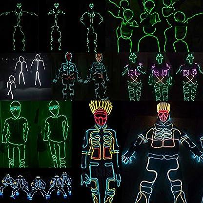 SZILBZ-EL-Wire-Neon-Beleuchtung-Kabel-Neon-Seil-Lichterflexible-Neonlicht-fr-DIY-Weihnachtsfeiern-Rave-Partys-Halloween-Kostm