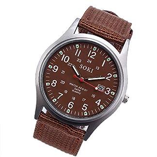Armbanduhr-Men-Liusdh-Uhren-Retro-runde-arabische-digitale-Skala-mit-Segeltuchbgeluhr-mit-Uhrkastengeschenkuhr-uhr