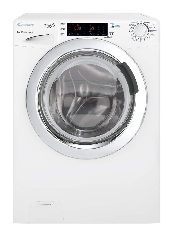 Candy-gvs44138twhc2-autonome-Belastung-Bevor-8-kg-1300trmin-A-Wei-Waschmaschine–Waschmaschinen-autonome-bevor-Belastung-wei-Knpfe-drehbar-links-chrom