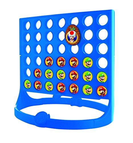 4gewinnt-Super-Mario-42355-Klein-Mika-Strategiespiel-18-cm
