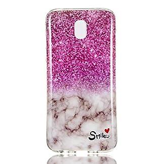 Tosim-Galaxy-J7-2017-J730-Hlle-Flex-Silikon-Handyhlle-Stossfest-Kratzfest-Weich-Schutzhlle-Cover-Soft-Case-fr-Samsung-Galaxy-J7-2017