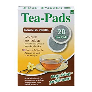 10-Packungen-mit-je-20-Tea-Pads-Rooibushtee-Vanille-fr-Pad-und-Siebtrgermaschinen-von-Tea-Friends