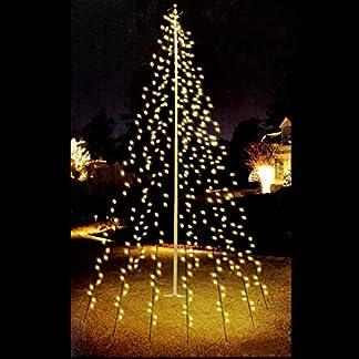 LED-Lichterkette-120-LEDs-Weihnachtsbaumbeleuchtung-2m-Baum-Beleuchtung-Kegel