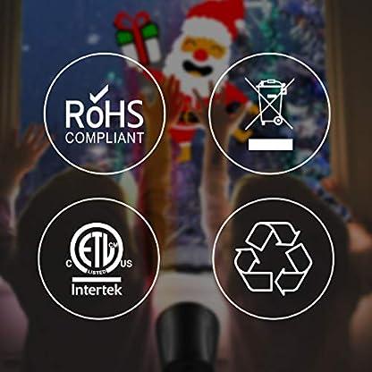 1byone-Projektor-Licht-LED-Projektor-Weihnachtsbeleuchtung-LED-Projektionslampe-Dynamische-Auto-Shifting-Bilder-schaltbar-Muster-OutdoorIndoor-verwenden-IP65-wasserdicht