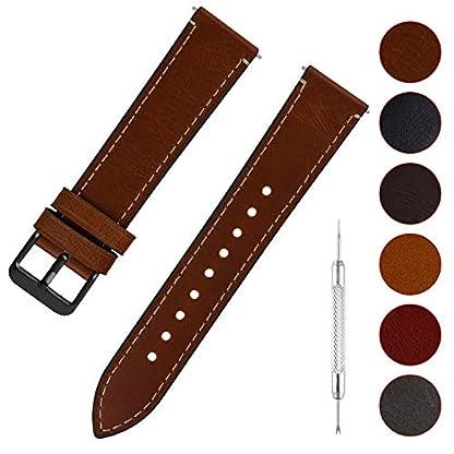Fullmosa-Uhrenarmband-Leder-mit-Schnellverschluss-Wax-Oil-Serie-in-141618202224mm