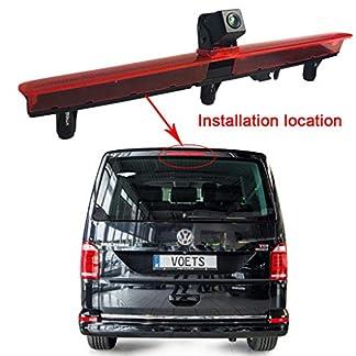 Dachoberseitenbremse-Lampe-Kamera-Bremslicht-hintere-Ansicht-Untersttzung