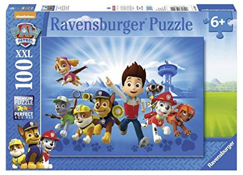 Ravensburger-10899-Ryder-und-die-Paw-Patrol-100-XXL-Teile-Puzzle