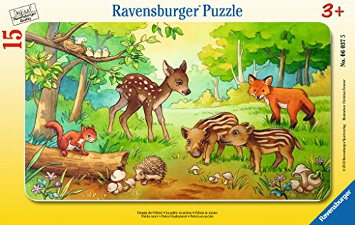 Ravensburger-06376-Tierkinder-des-Waldes