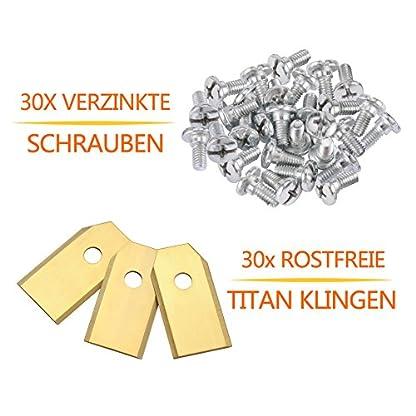 30x-Titan-Messer-Klingen-KWOKWEI-Original-Ersatzmesser-aus-Carbon-3g-075mm-Mhroboter-Ersatzmesser-fr-alle-Husqvarna-Automower-und-Gardena-Rasenmher