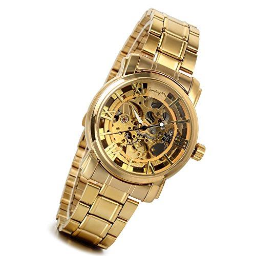 Gold-Damen-Herren-Armbanduhr-Fashion-Casual-Analog-Quarz-Uhr-mit-Edelstahl-Armband-Digital-Ziffern-Zifferblatt-mit-Strass