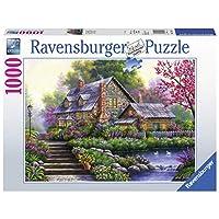 Ravensburger-Erwachsenenpuzzle-15184-Ravensburger-15184-Romantisches-Cottage-Erwachsenenpuzzle