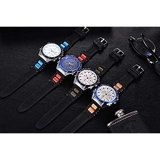 Souarts-Herren-Casual-Mode-Analog-Quarz-Uhr-mit-Silkon-Armband-und-Batterie-fr-Outdoor-Sport
