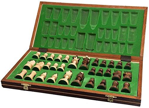 Chess-Senator-zusammenklappbar-Chess-406-cm-braun-Board-Game