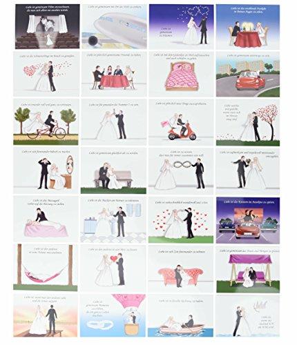 hochzeitsspiel 52 postkarten verschiedene f r die g ste zum ausf llen mit tipps empfehlungen. Black Bedroom Furniture Sets. Home Design Ideas