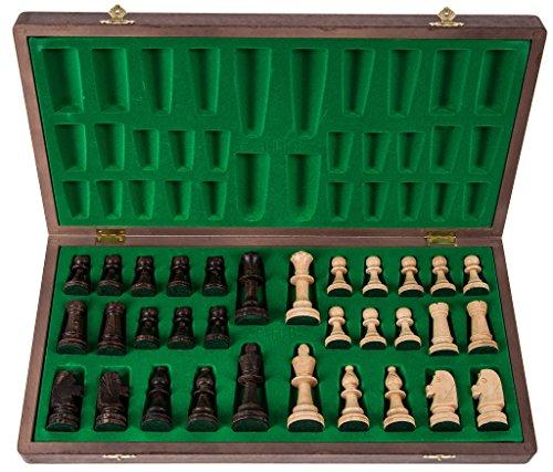 Pro-Schach-Nr-6-NUSS-Schachspiel-aus-Holz-Schachbrett-Staunton-6