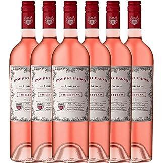 6er-Paket-Doppio-Passo-Rosato-IGT-Puglia-2018-CVCB-halbtrockener-Roswein-italienischer-Sommerwein-aus-Apulien-6-x-075-Liter