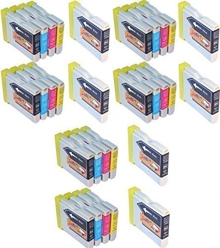 Start-30-Ersatz-Patronen-kompatibel-zu-LC970-LC1000-fr-Brother-DCP-130C-DCP-330C-DCP-350C-DCP-353C-DCP-357C-DCP-535CN-DCP-540CN-DCP-560CN-DCP-680CN-DCP-750CW-DCP-770CW-MFC-240C-MFC-3360C-MFC-440CN-MFC