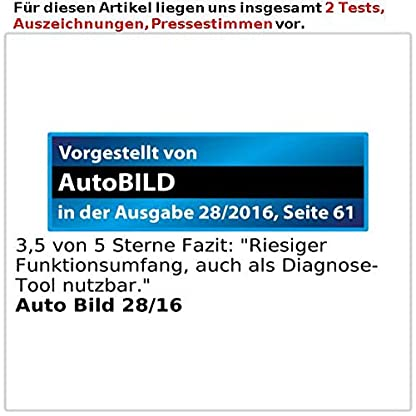 Lescars-Head-Up-Displays-Head-up-Display-mit-Bluetooth-HUD-55Cbt-fr-OBD2-Anschluss-Head-Up-Displays-mit-Bluetooth