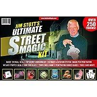 Jim-Stott-Magic-Ultimative-Street-Magic-Kit-Set-Zaubertricks-fr-Erwachsene-Svengali-Card-Deck-The-Ultimate-Levitation-System-geheime-Fluchtgert-Eindringende-Gummibnder