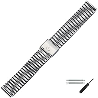 MARBURGER-Uhrenarmband-20-mm-Edelstahl-Silber-Uhrband-Set-84907200020