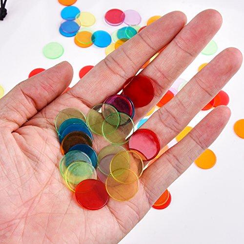 120-Stck-Transparente-Farbzhler-Zhlen-Spielchips-Plastechips-Bingo-Chips-Kunststoff-Marker-mit-Aufbewahrungstasche