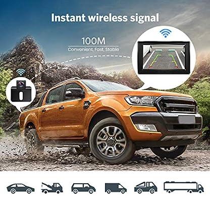 Rckfahrkamera-und-Monitor-Set-BOSCAM-K1-Wireless-Einparkhilfe-mit-144-cm43-Zoll-LCD-Farbdisplay-Rear-View-Monitor-und-IP68-Wasserdichte-Kamera-fr-Auto-Bus-LKW-Schulbus-Anhnger