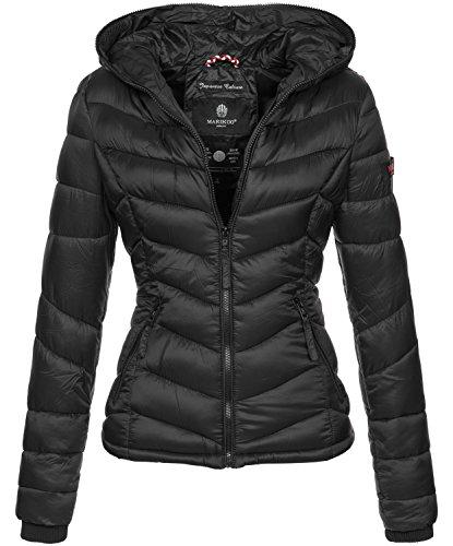 Marikoo Damen Jacke Stepp leichte Herbst Winter Übergangsjacke XS-XXL B403