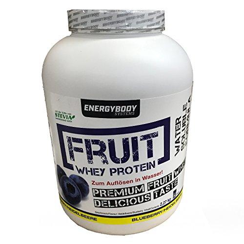 Energybody Fruit Whey Protein Heidelbeere, 2270 g