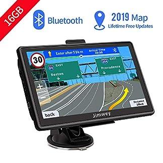 Bluetooth-Navi-Navigation-fr-Auto-Navigationsgert-LKW-Navigationssystem-PKW-7-Zoll-16GB-Kostenloses-Kartenupdate-mit-Freisprecheinrichtung-POI-Blitzerwarnung-Sprachfhrung-Fahrspur-2019-Europa-Karte