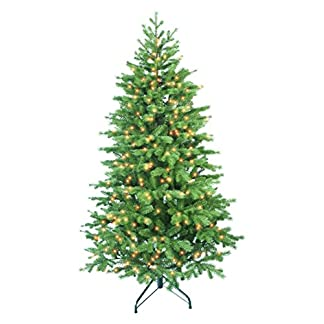Forever-Green-Easy-Tree-knstlicher-Weihnachtsbaum-Plastik-grn-112-x-112-x-180-cm