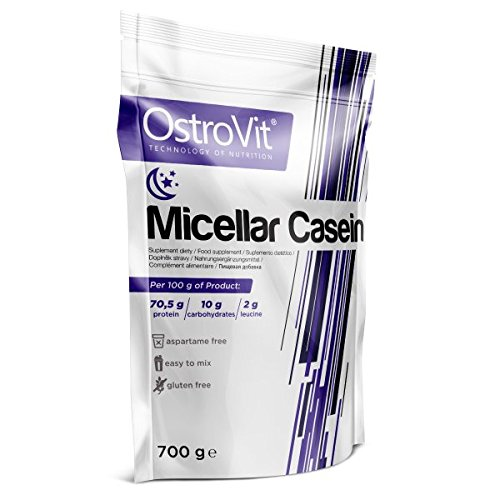 OstroVit MICELLAR CASEIN Vanilla, 1er Pack (1 x 700 g)