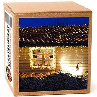 200-LED-Lichternetz-3x3m-Lichtnetz-Kabel-grn-LED-warmwei-fr-innen-und-auen