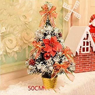DZWLYX-Baumdecke-Weihnachtsbaum-Rock-Christbaumdecke-Rund-Wei-Weihnachtsbaumdecke-Christbaumstnder-Teppich-Decke-Weihnachtsbaum-Deko-40CM