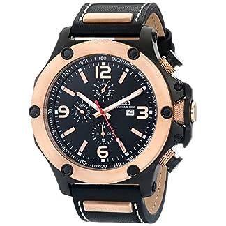Joshua-Sons-Herren-Analog-Display-Swiss-Quartz-Black-Watch