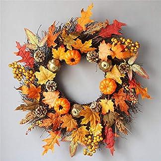 Generp-Weihnachtsgirlande-Rattan-60cm-Halloween-Thanksgiving-Maple-Kranz-Tr-hngende-Halloween-Rebe-Ornamente-Halloween-Berry-Vine-fr-Halloween-Thanksgiving-Dekoration