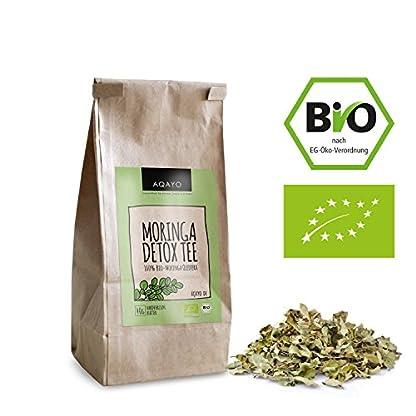 AQAYO-Moringa-Detox-Tee-100-Bio-Moringa-Oleifera-Getrocknete-Moringa-Bltter
