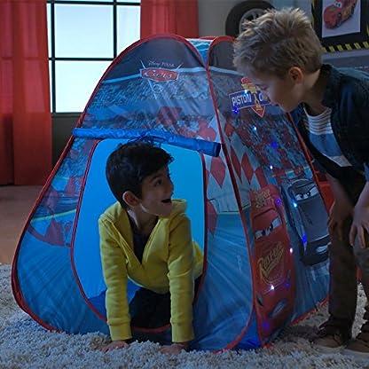 Pop-Up-Spielzelt-mit-LED-Lichtern-fr-Kinder-ca-75-x-75-x-90-cm-Schneller-und-einfacher-Auf-Abbau