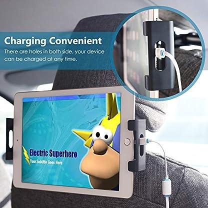 POMILE-Auto-Tablet-Halterung-Kopfsttze-Universal-KFZ-Kopfsttzen-Halterung-Unterstzt-fr-46-129-Zoll-fr-iPad-Tablet-Handy