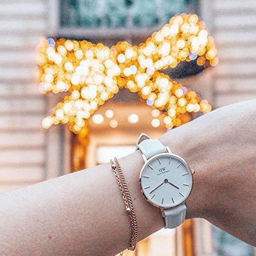 Happiness Boutique Damen Zarte Armbänder Rosegold | Filigrane Armketten 2-er Set aus Edelstahl